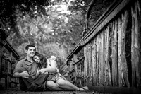 Tara and Conner's Engagement Session at The Botanical Gardens and Lagan Park