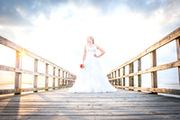 Kate's Bridal Session at Bayfront Daphne Park