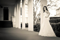 Lindsey's Bridal Session at Springhill College