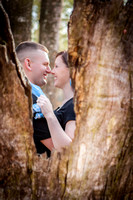 Valerie and Patrick's Engagement Session at Historic Blakely State Park and Fairhope Pier