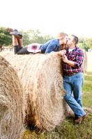 Heather and Riley Engagement Session at Acorn Farms