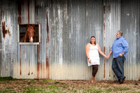 Bri and Todd's Engagement Session at Kalioka Stables